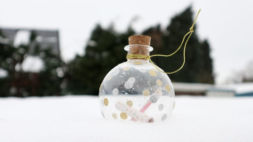 feestdagen kerst stress babys keepsake ornament
