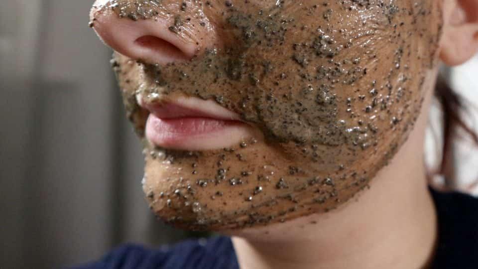cruelty free huidverzorgingsroutine Lush Cup O'COffee Gezichts-en Bodymasker review momambition