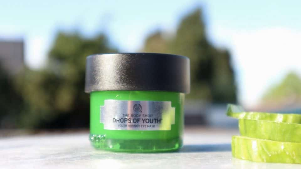 the body shop drops of youth bouncy eye mask review momambition.nl