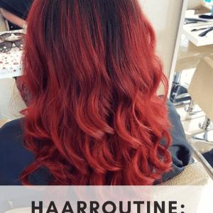 Red Head Haarroutine: (gekleurd) rood haar onderhouden