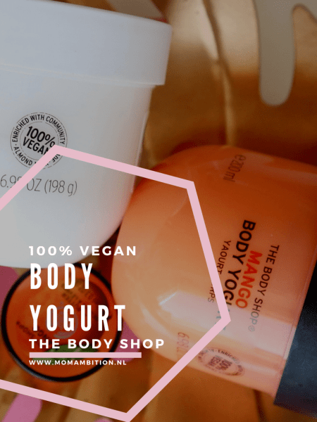 Verfrissende Body Yogurt van The Body Shop