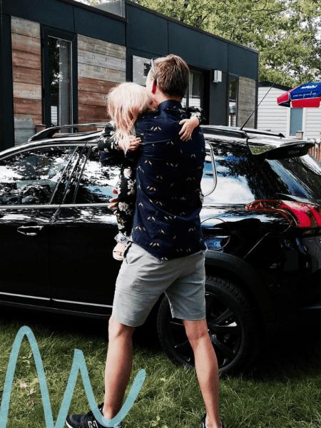 Relaxt op autovakantie met kinderen