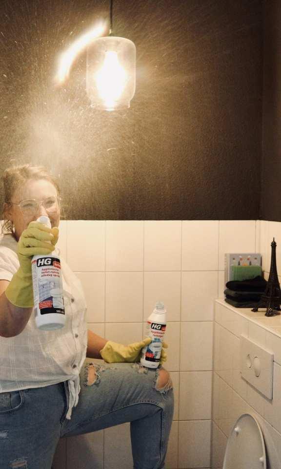 poetsen met HG tips