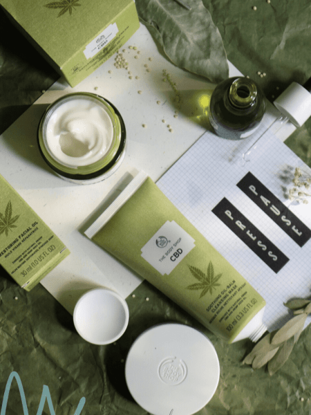 The Body Shop CBD : hydraterende hennep!
