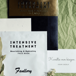 Fanllory Intensive Treatment Nourishing & Hydrating Face Mask