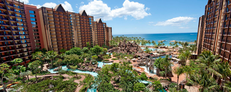 Disney's Aulani Resort in Oahu, Hawaii