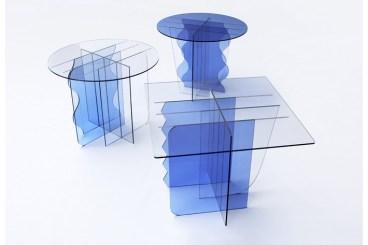 'tinge' side table series