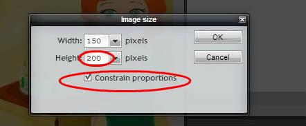 Pixlr tutorial: constrain