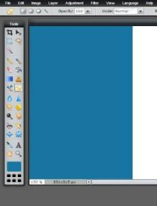 Pixlr tutorial: draw box