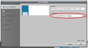 Pixlr tutorial:save pxd