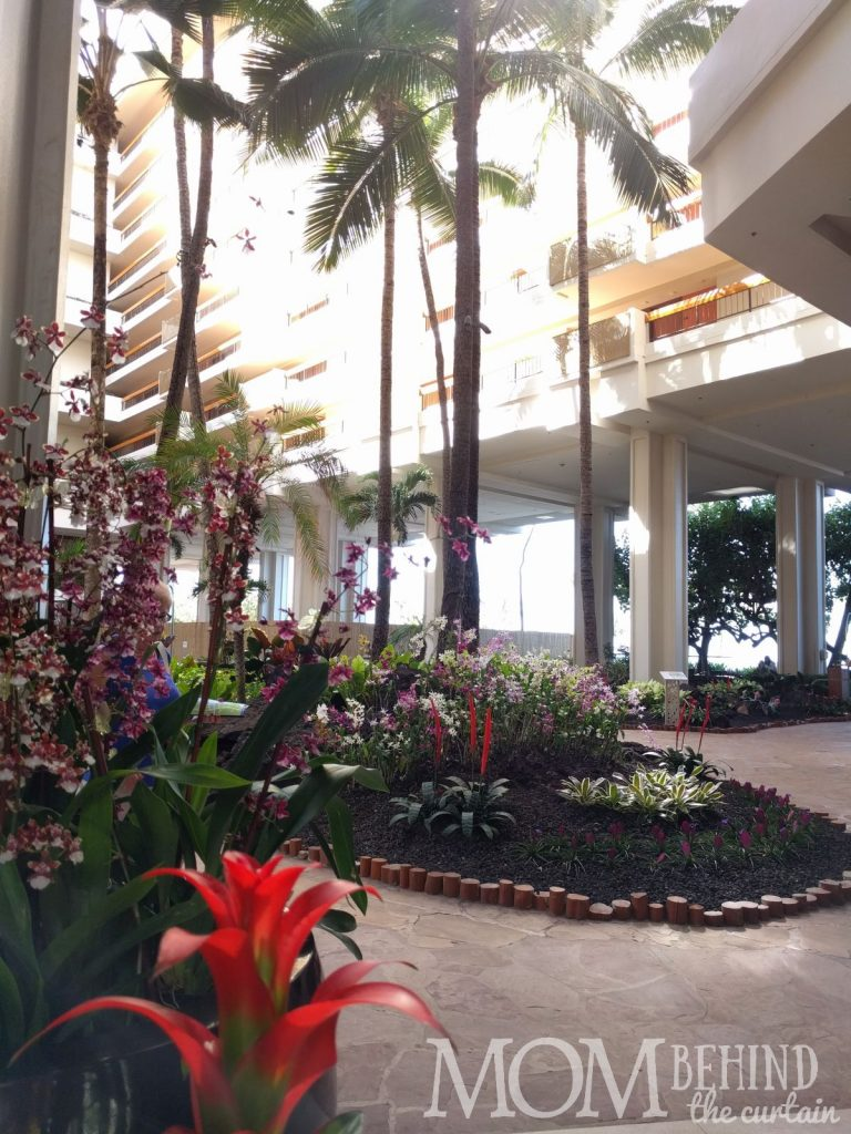 The best place to stay Maui - Hyatt Regency Resort lobby