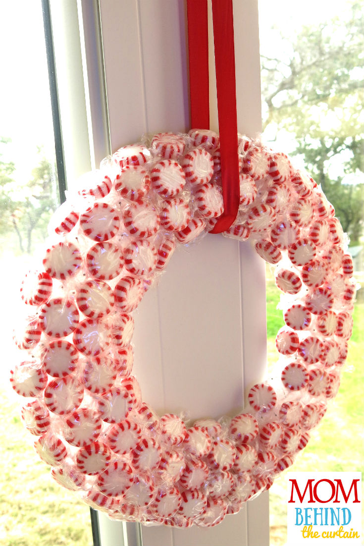 12+ of my favorite Christmas wreath tutorials, including my own Easy DIY Peppermint Wreath to decorate your kitchen! Learn how to make wreaths to decorate your home, everywhere from your front door to your kitchen! The wreaths use everything from fresh evergreens to puzzle pieces (a genius way to save money when you make your wreath. You gotta see it!) and everything in between. Click over to get some fabulous ideas.