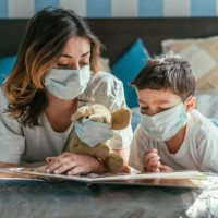 Best books for kids during Covid pandemic - childhood illnesses & quarantines