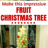 An Impressive 3D Fruit Display, a Grape and Cherry Christmas Tree