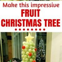 An Impressive 3D Fruit Display, a Grape and Cherry Christmas Tree
