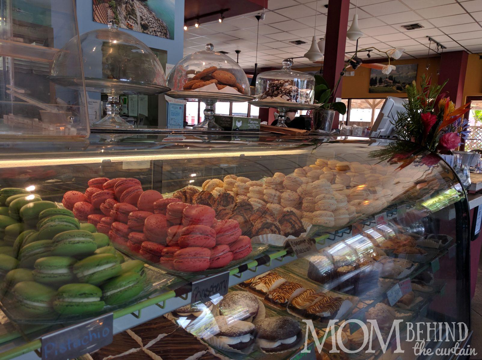 pastry counter Fabiani's Maui