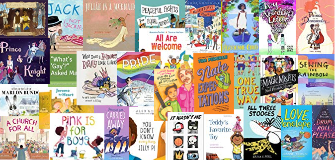 2018 Gift Guide To Lgbtq Inclusive Children S And Middle Grade Books