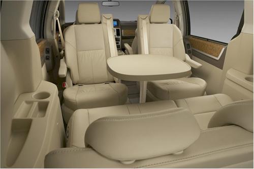 biggest minivan interior www
