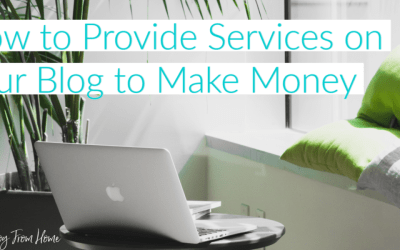 How to Provide Services on Your Blog to Make Money