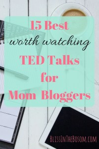 TED talks for bloggers