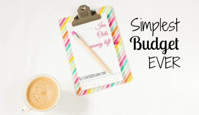 simple budget