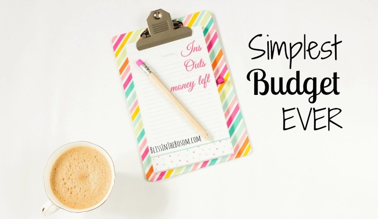 How to Make a Simple Budget in Three Easy Steps