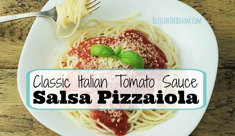 How to Make Italian Salsa Pizzaiola – Simple and delicious