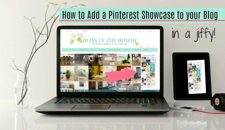 How to add a Pinterest Showcase to your Blog in a jiffy