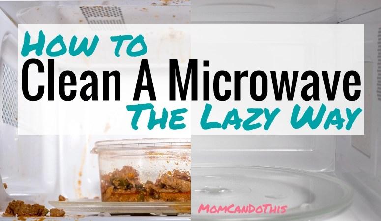 easy clean microwave clean a