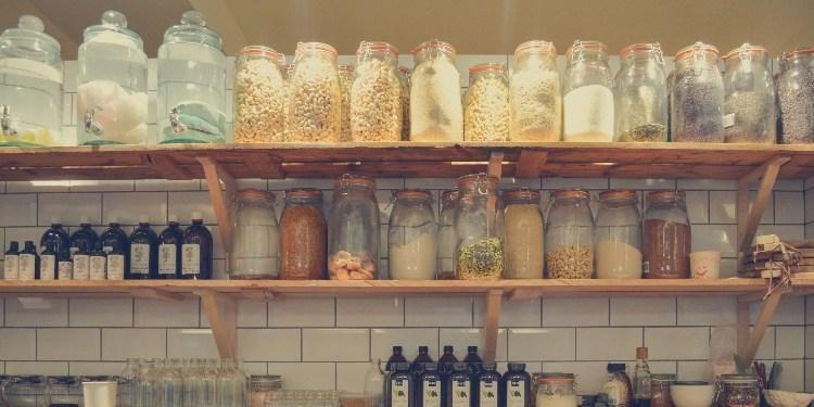 baking ingredients pantry