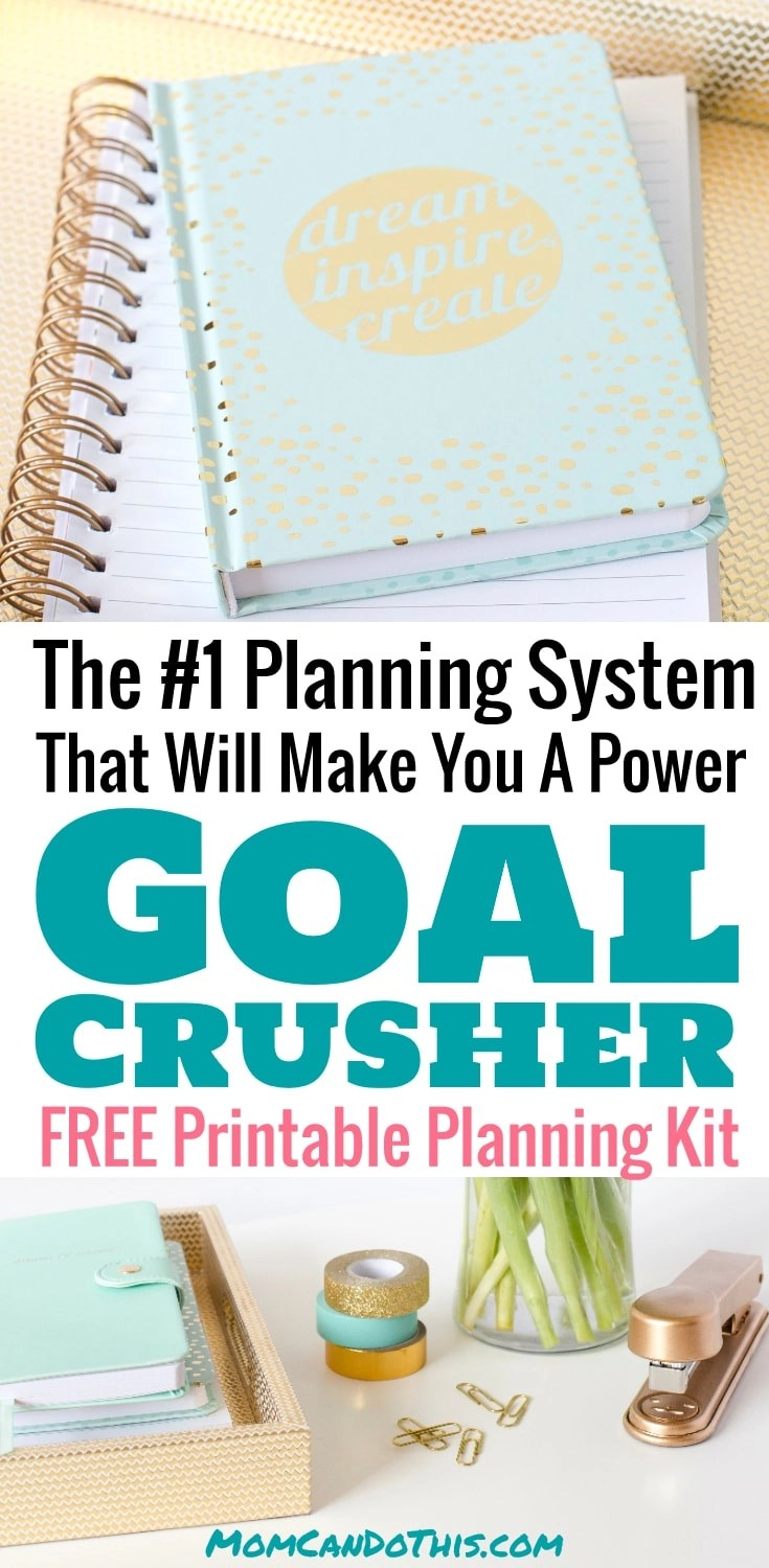 Learn How To Plan effectively with a high performing planning system. Use these productivity tips and get things done. Crush your goals, boost your productivity! Click through for a FREE printable planning kit to finally achieve your big goals!