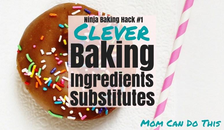 baking ingredient substitutes