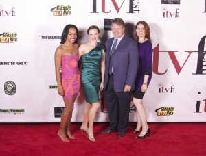 MomCave Team (sans kids and showered for once) at Independent Film & TV Fest