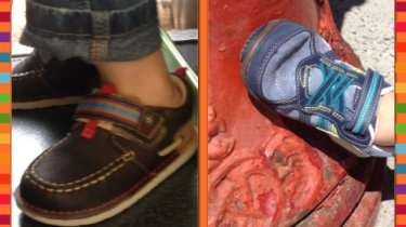 Stride Rite Shoe giveaway. Win new shoes for your kid from StrideRite and MomCaveTV.com