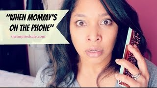 When Mom is on the Phone Dija Henry MomCave LIVE