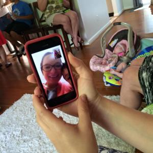 virtual baby shower via facetime momcave