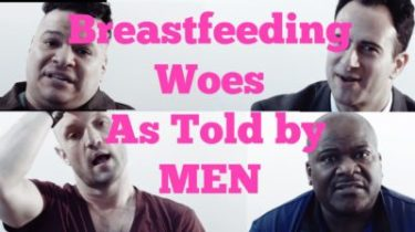 Breastfeeding Woes As Told By Men MomCave