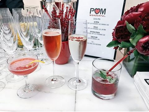 POM cocktails momtrends holiday