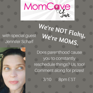 MomCave LIVE We Are Not Flakey