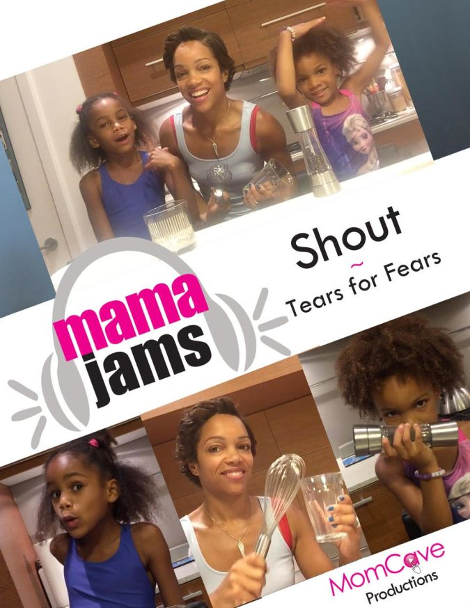 Adorable Tears for Fears cover of Shout on MamaJams MomCave