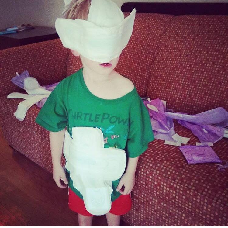 Sara Green kids destroy things MomCave