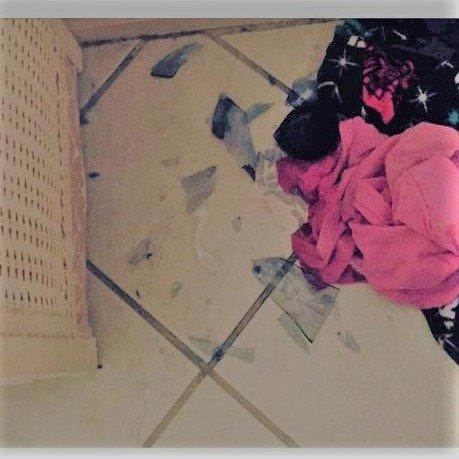 kids destroy things MomCave broken glass