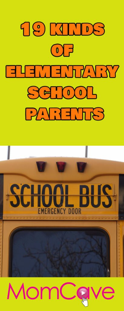 Elementary School Parents-19 Kinds You'll Find in Any School-Guest post on MomCaveTV.com