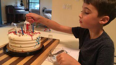 Easy Baseball Birthday Cake for Slacker Moms MomCaveTV