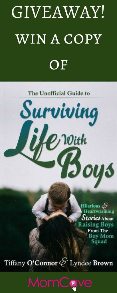 Surviving Life with Boys Book Giveaway MomCave