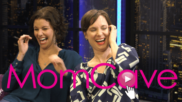 In the MomCave with Jen and Dina YouTube #WomeninComedy