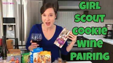 Girl Scout Cookie Wine Pairings MomCaveTV.com