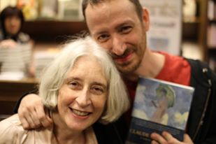 Stephanie Cowell Jesse Cowell book signing