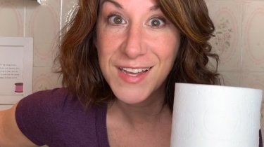 Ellie from MomCave's new series Potty Mouth