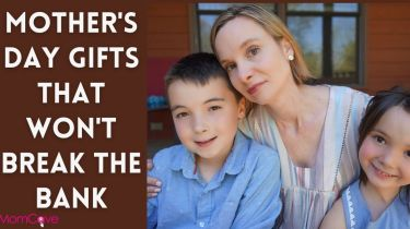 Mother's Day Gifts That Won't Break the Bank Mom and Kids on Porch